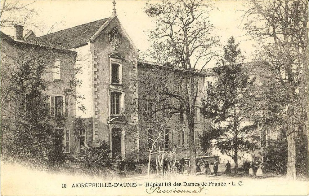 Pensionnat hopital 1918